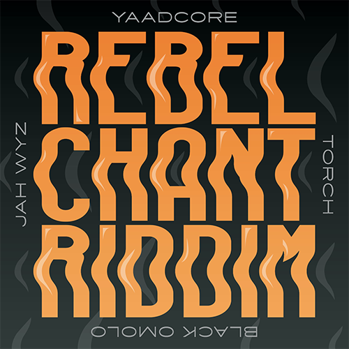 Top Rankin' x VA - Rebel Chant Riddim Artwork